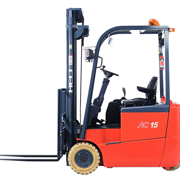 AC 1.5 ton rear drive electric forklift truck